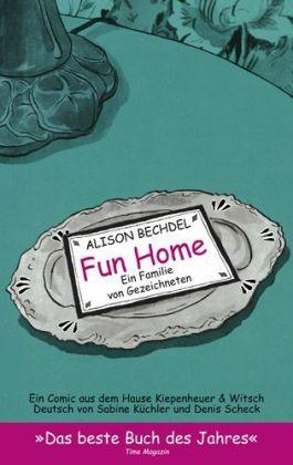 Fun Home Book Cover